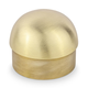 Domed End Cap - Brushed (Satin) Brass - 2