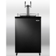 Summit Kegerator - 2 Faucets - Black