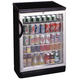 Summit Glass Door Free Standing Refrigerator - 5.5 cu. ft. - Black