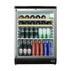 Summit Pub Cellar Glass Door Bar Refrigerator - 5.5 cu. ft. - Black