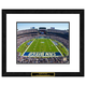 San Diego Chargers NFL Framed Double Matted Stadium Print
