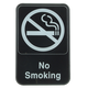No Smoking Sign - Plastic - Large