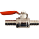 Inline Shut Off Ball Valve - Chrome Plated Brass