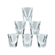 Whiskey Shot Glasses - True 1 Ounce Size - Set of 6