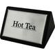 Hot Tea Tabletop Wood Block Sign