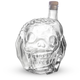 Zombie Head Crystal Skull Shaped Liquor Decanter - 38 oz
