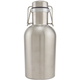 Stainless Steel Swing Top Growlette Beer Growler - 1 Liter