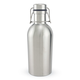 Double Walled Stainless Steel Swing Top Growlette Beer Growler - Vacuum Insulated - 1 Liter