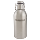 KegWorks Double Walled Stainless Steel Swing Top Beer Growler - Vacuum Insulated - 2 Liters