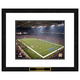 St. Louis Rams NFL Framed Double Matted Stadium Print