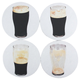 Disappearing Stout Drink Coasters - Set of 4