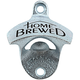 Home Brewed Cast Iron Bottle Opener - Wall Mounted