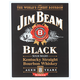 Jim Beam Black Label Metal Bar Sign