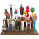 Beer Tap Handle Display Stand - Holds 7 Handles