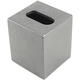 Boutique Size Tissue Box Cover - Silver Vein