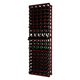 Traditional Redwood 5 Column Wine Rack with Display Row - Holds 100 Bottles