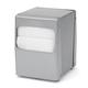 Tabletop Low Fold Steel Napkin Dispenser - 2 sided