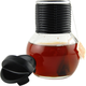Glass Hottle with Plastic Lid - 10 oz