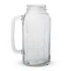 Mason Jar Beer Stein - 2 Liters