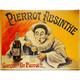 Pierrot Absinthe by Lucien Metivet - Canvas Art