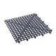 Interlocking Bar Glass Mat - 1 Square Foot - Black