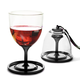 Vino Stack N' Go Portable Plastic Wine Glass - 10 oz - Set of 2