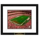 Washington Redskins NFL Framed Double Matted Stadium Print