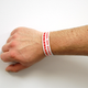 Bar & Event Security Wristbands - Drinking Age Verified - Set of 100