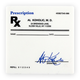Rx Prescription Drink Coasters - Set of 4