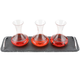 Wine Tasting Flight Decanter Set - 4 Pieces