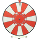 Dry Erase Tabletop Prize Wheel - Poker Chip Face