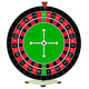 Tabletop Upright Roulette Wheel & Playfield