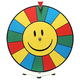 Dry Erase Tabletop Prize Wheel - Smiley Face