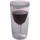 Vino2Go Insulated Wine Tumbler - Clear Frost Lid - 10 oz