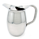 Stainless Steel Water Pitcher with Ice Guard - 64 oz