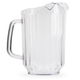 Plastic Beer or Water Pitcher with 3 Pour Spouts - 60 oz