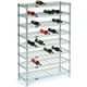 Wine Bottle Cradle Wire Shelving Unit