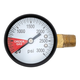 Replacement Gauge for CO2 Regulator - 0-3000 PSI -  Right Hand Thread