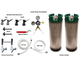 Two Tap Refrigerator Conversion Kit for Homebrew - No CO2 Tank