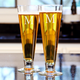 Personalized Classic Pilsner Beer Glasses - 16 oz - Set of 2