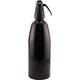Leland Aluminum Soda Siphon - Black - 1 Liter