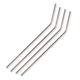 Behind The Bar® Stainless Steel Drinking Straw - 9 1/2