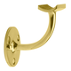 Handrail Bracket - Polished Brass - 1.5