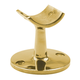 Low Saddle Post - Polished Brass - 1.5