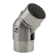 Adjustable Flush Elbow Fitting - Brushed Stainless Steel - 1.5