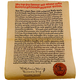 Reinheitsgebot German Beer Purity Law Parchment Poster