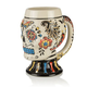 Day Of The Dead Sugar Skull Multi-Colored Stoneware Mug - 22 oz