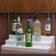 24-inch 3 Tier Liquor Bottle Shelf - White