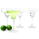 Personalized Margarita Glasses - 14 oz - Set of 4