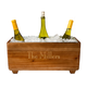 Personalized Wooden Wine Bottle Ice Bucket